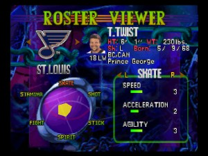 "No one at Konami must have watched the St. Louis Blues because that ""fight"" rating is WAY too low."