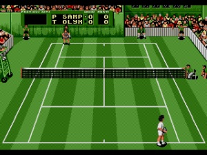 Pete Sampras approved every single pixel in this representation of his hair.