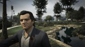 In Grand Theft Auto V, golf is a surprisingly brutal sport.
