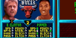 Known for signing the North American Three Point Agreement, President William Jefferson Clinton was fond of sinking the three pointer from down town, if you know what I mean.
