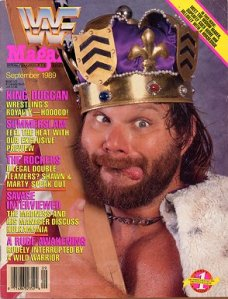 The September 1989 issue of WWF Magazine. Okay, no one could possibly have believed that this was real.