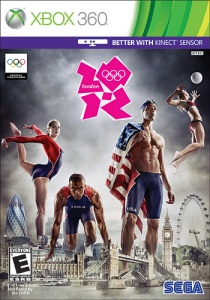 This image is a good example of how male and female athletes are objectified in different ways but I'm too distracted by the hideous logo of the 2012 Olympics.