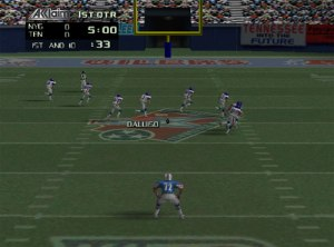 """The high resolution graphics of NFL Quarterback Club don't just move the chains...they're off the chain!"" - GamerzEdge"
