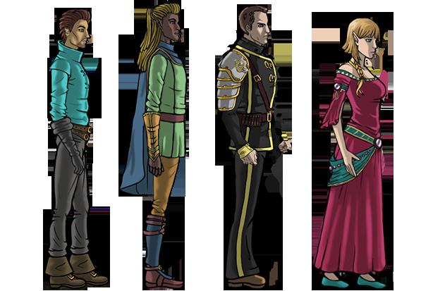 Overworld Character Sprites