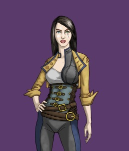 Sofya Rykov- Concept Art by Wendy Gram, Coloring by Jenny Gibbons